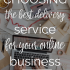 Choosing an ECommerce Product Delivery Service  | The Mogul Mom