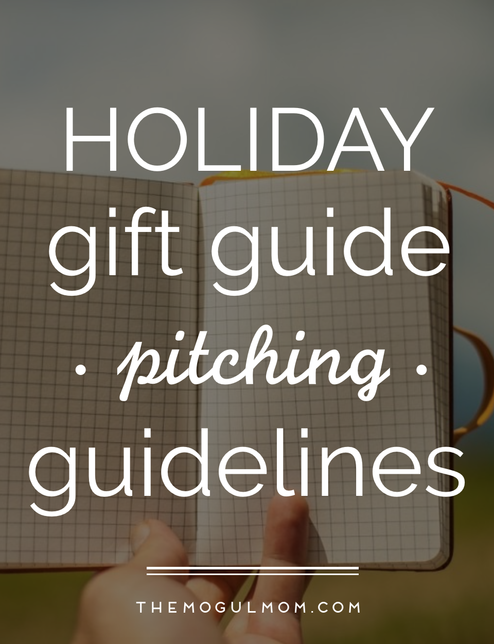 Holiday Gift Guide Pitching Tips