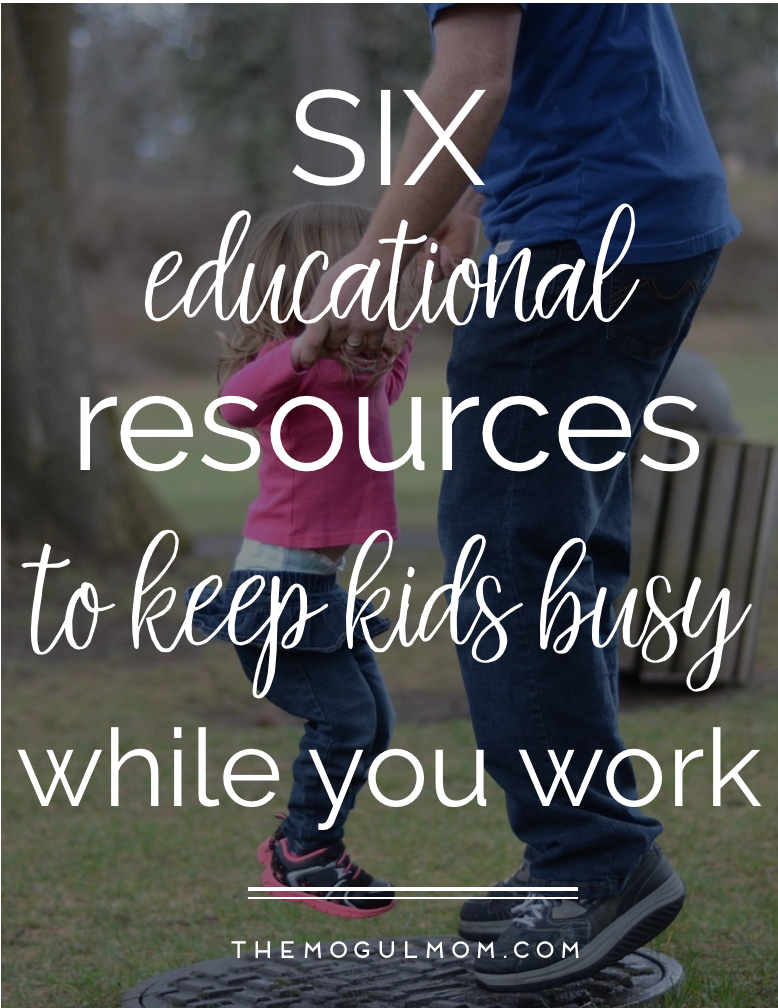 6 Educational Activities To Keep Your Kids Busy While You Work