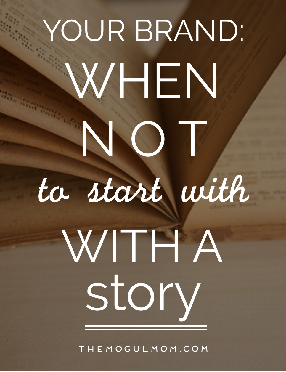 Business Networking: When NOT to Start with a Story
