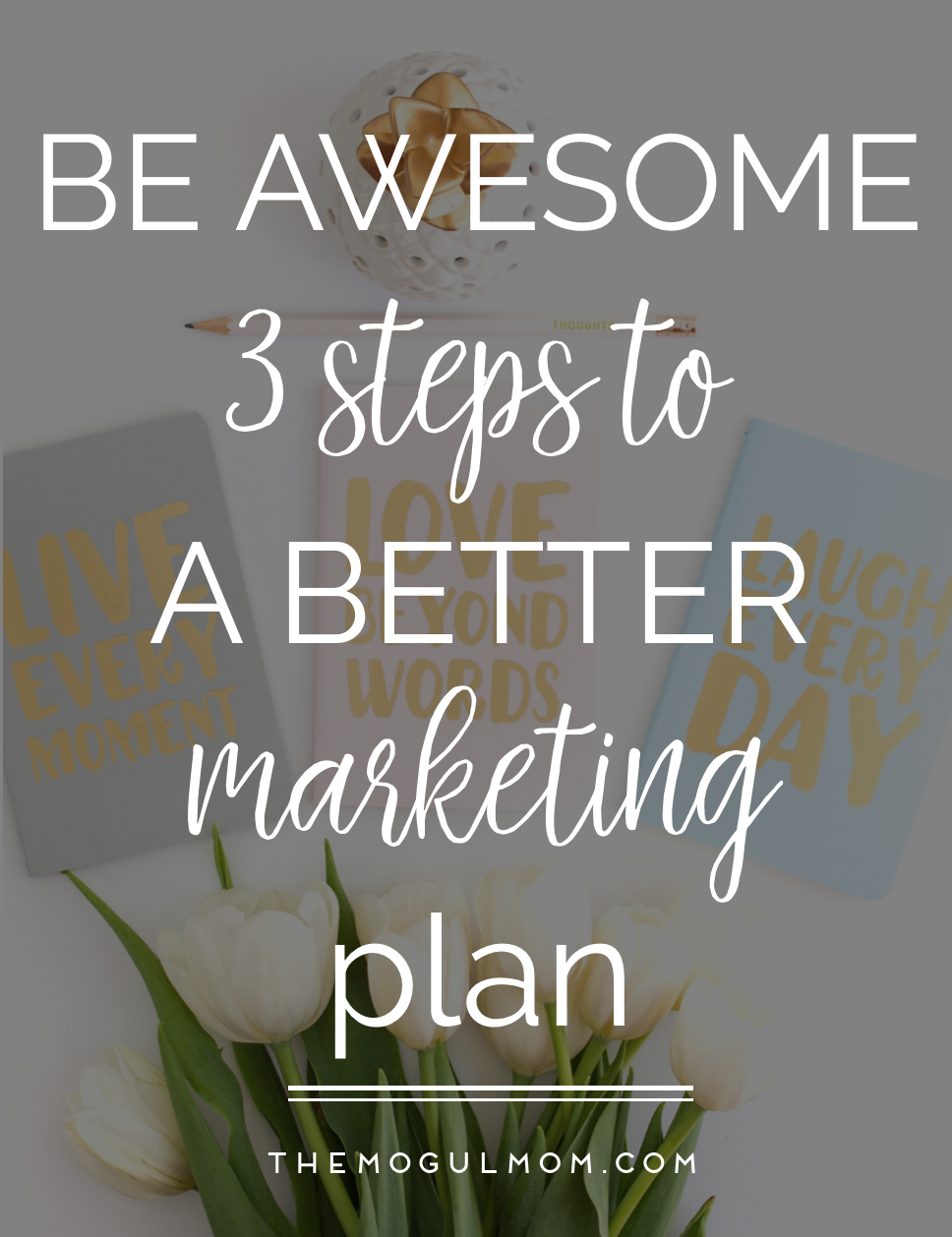 Be Awesome: 3 Steps to a Better Marketing Plan