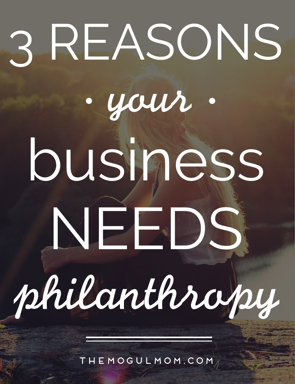 3 Reasons Why Your Business Needs Philanthropy