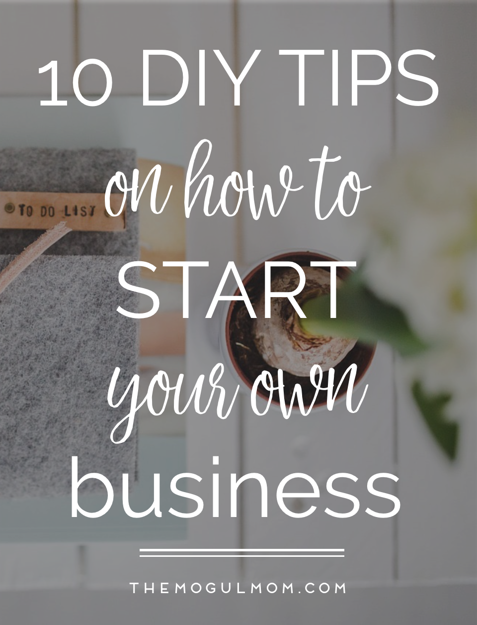 10 DIY Tips to Starting Your Own Business NOW!