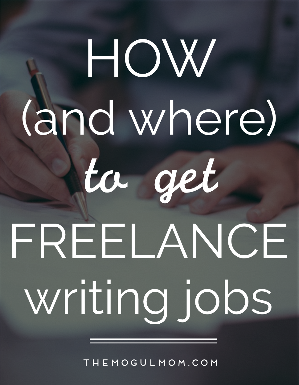 How (& Where) To Get Great Freelance Copywriting Jobs