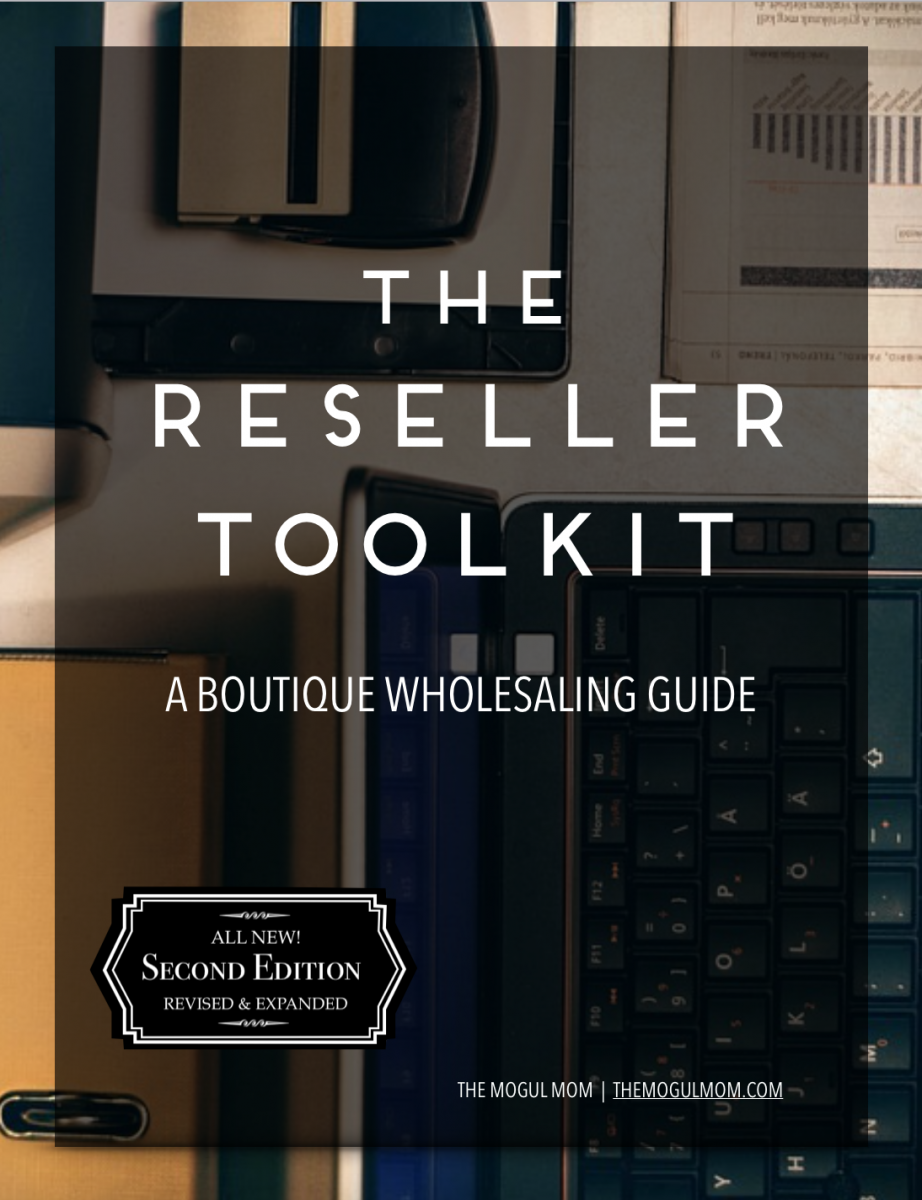 The Reseller Toolkit Cover | The Mogul Mom