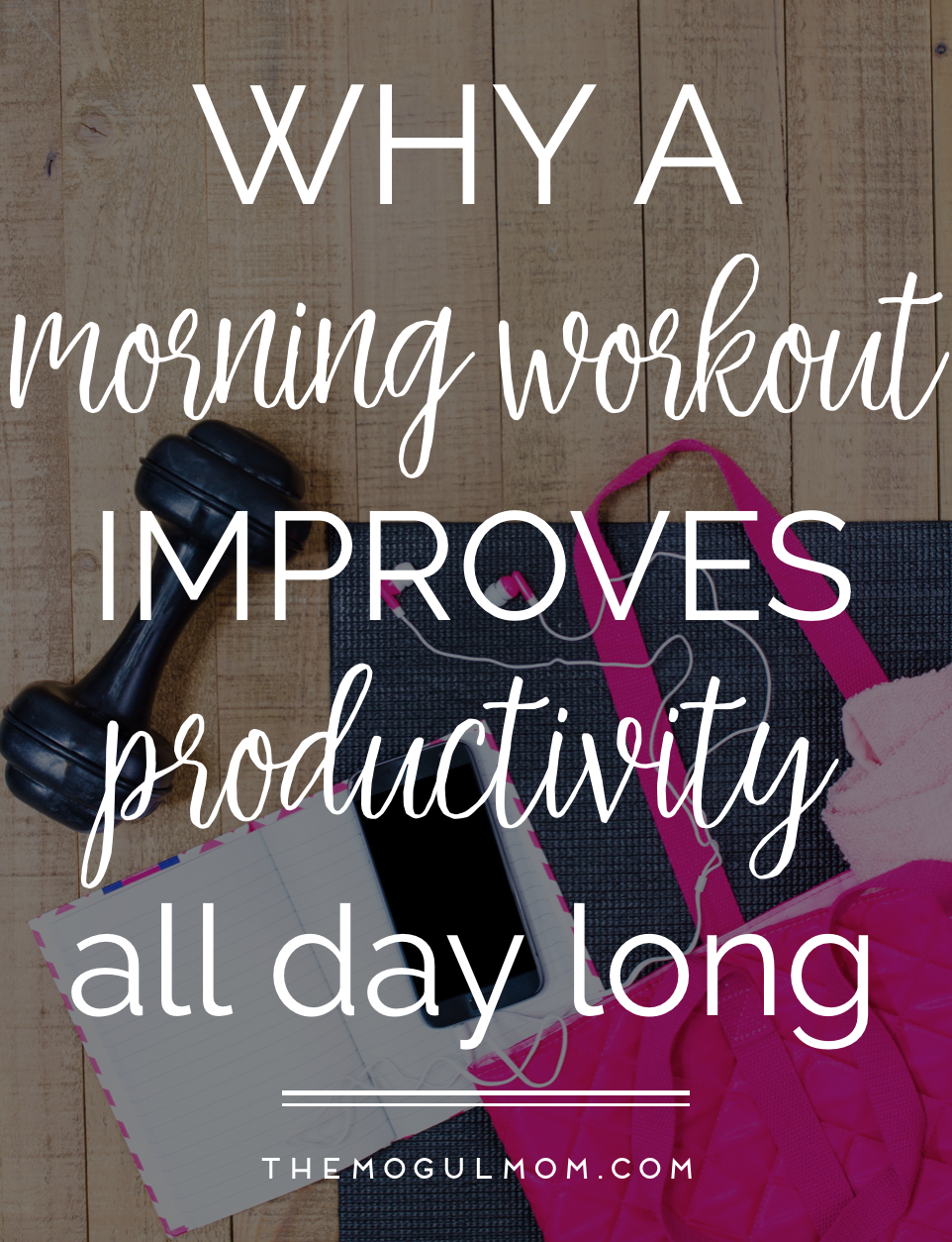 Can A Morning Workout Really Improve Productivity?