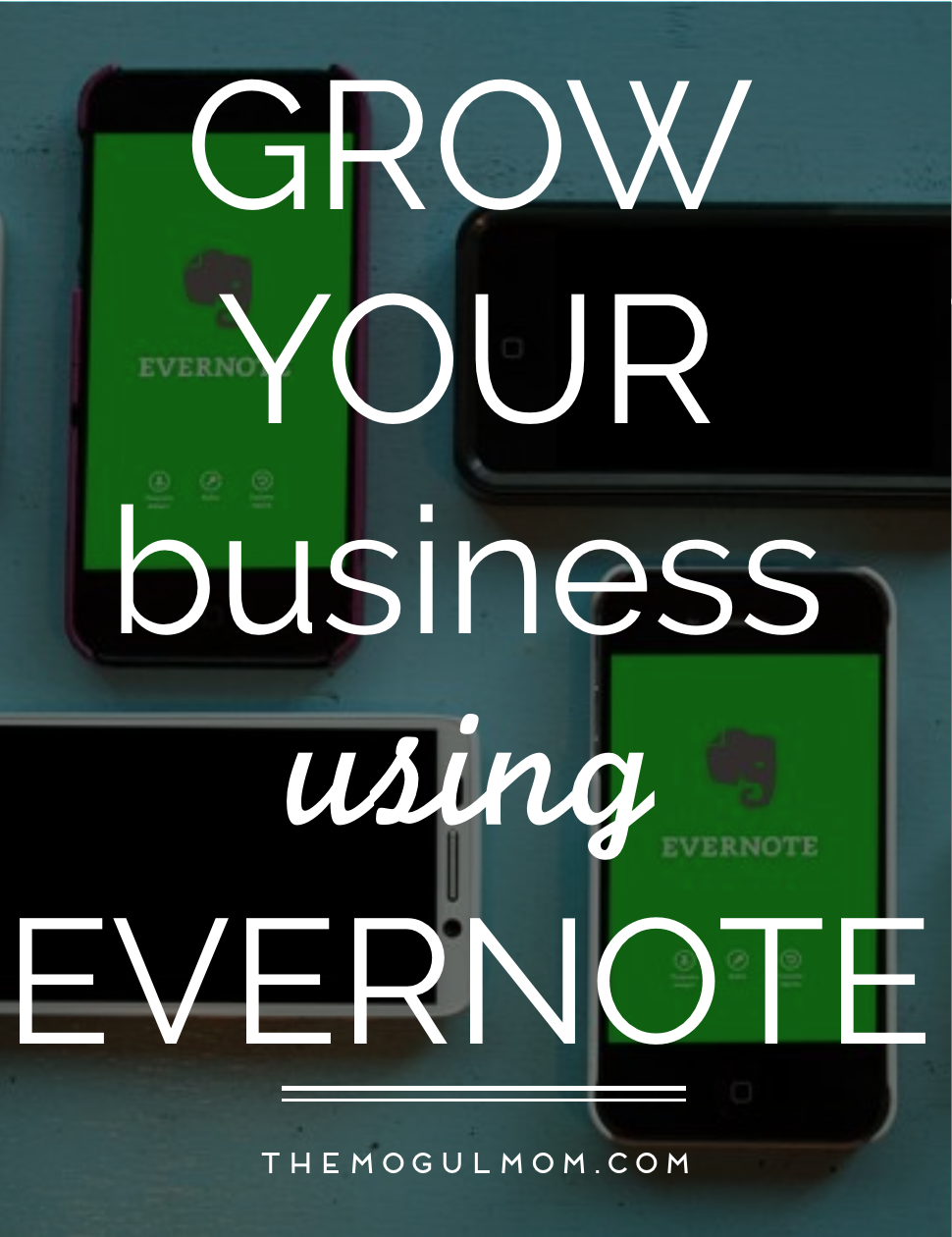Grow Your Business Using Evernote