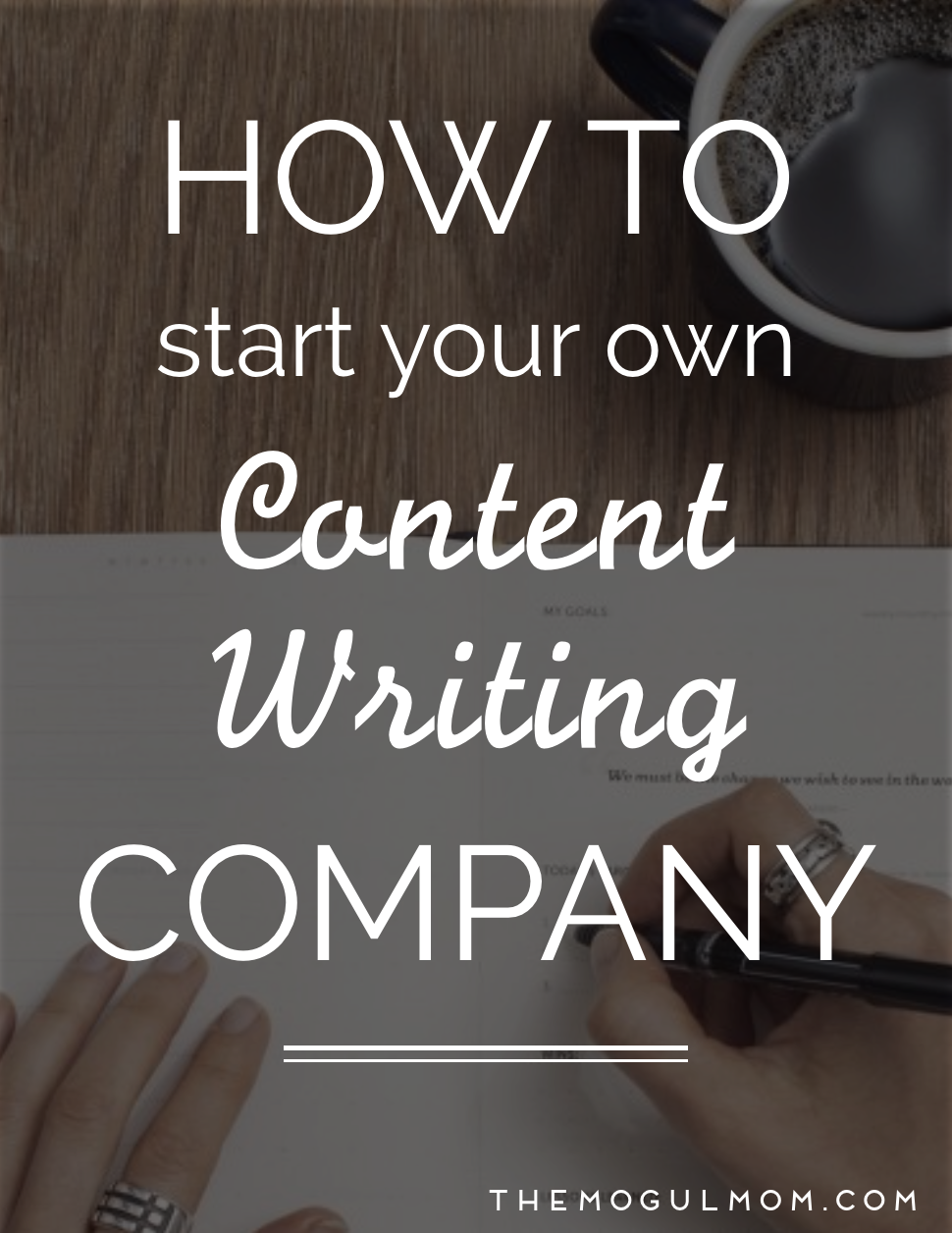 How to Start Your Own Content Writing Company: A Step-by-Step Guide