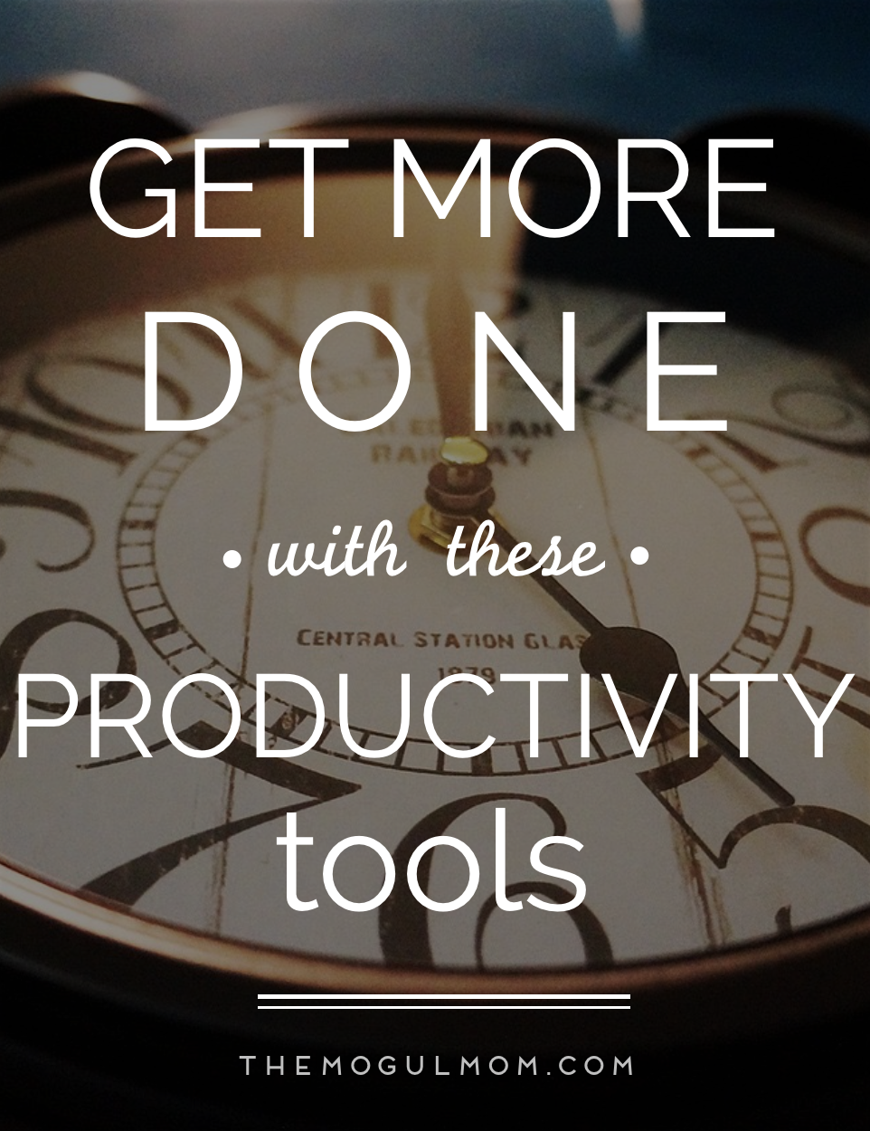Do More With Less: Our Favorite Productivity Tools