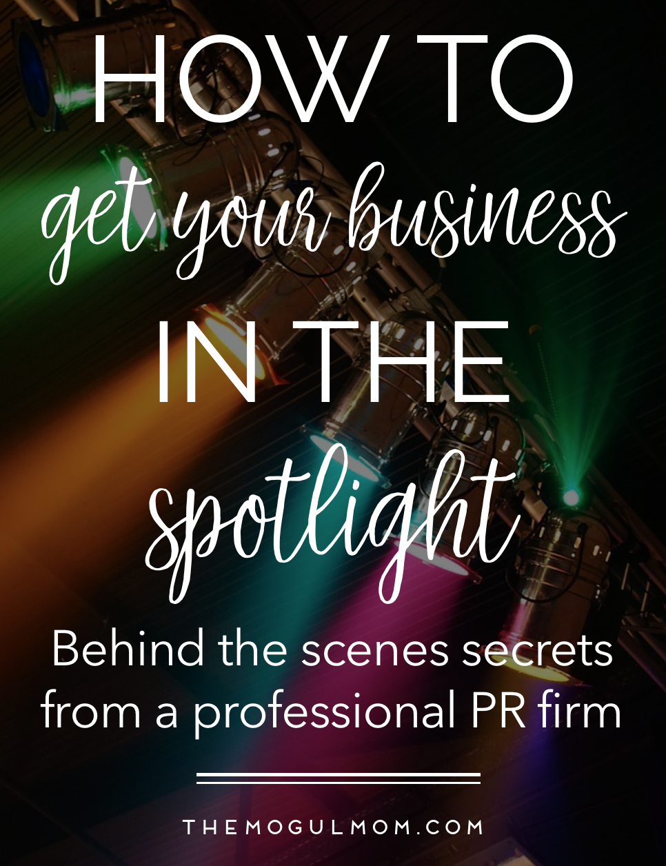 PR Secrets of The Pros