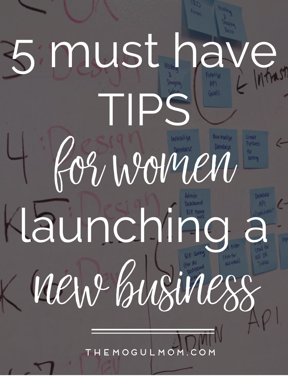 Five Tips for Women Launching Their Dream Business