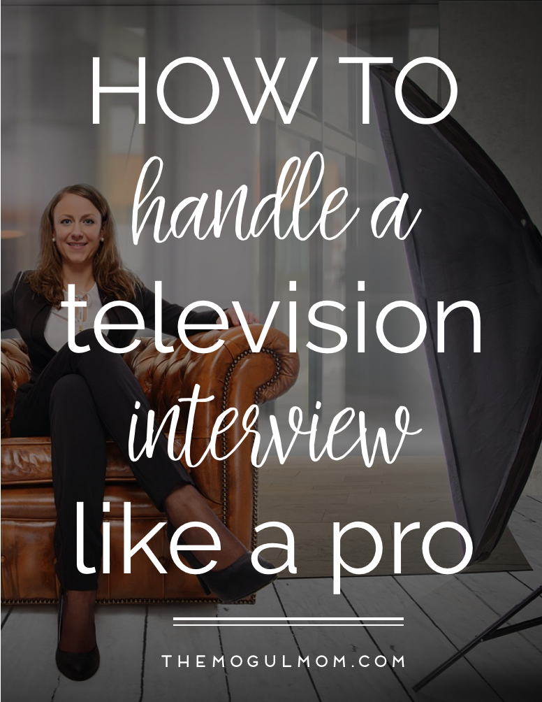 Pro Tips On How To Land a TV Interview