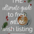 The best wish list websites | The Mogul Mom