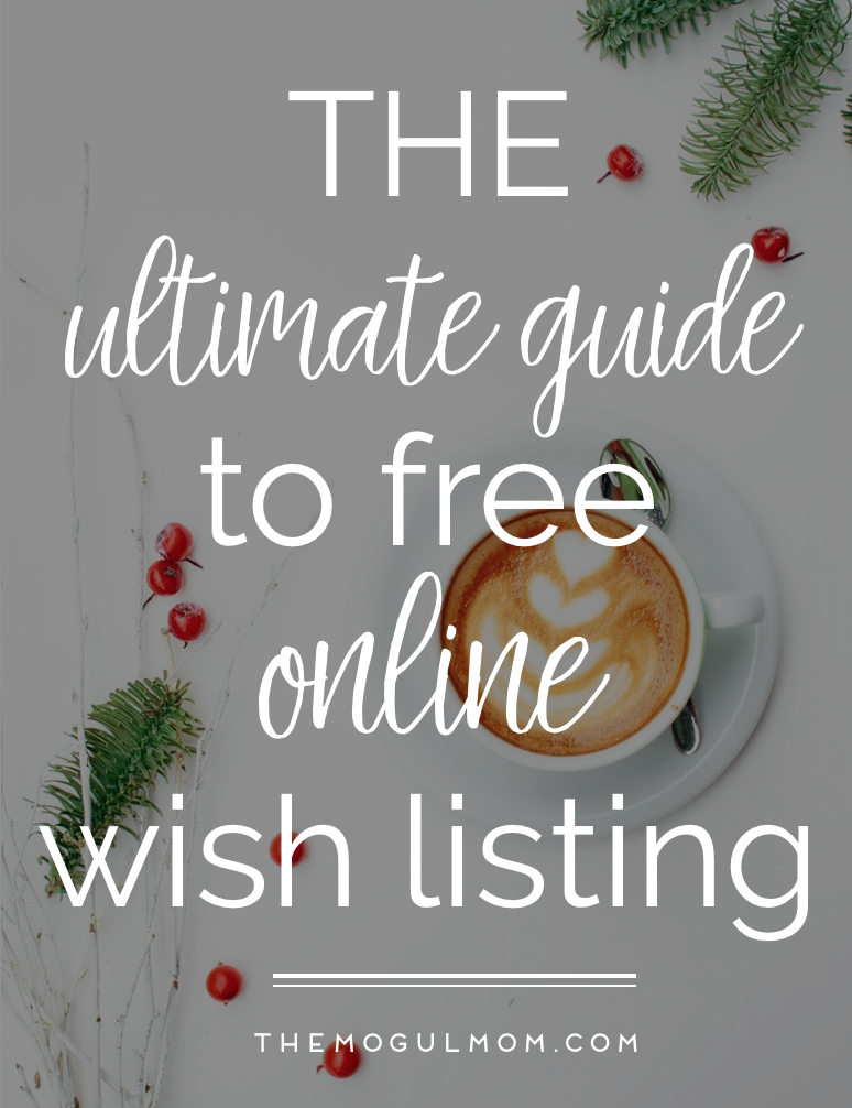 The Top 4 Online Wish List Sites