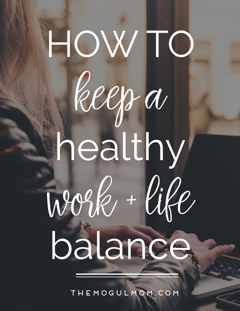 How to Keep a Healthy Work Life Balance